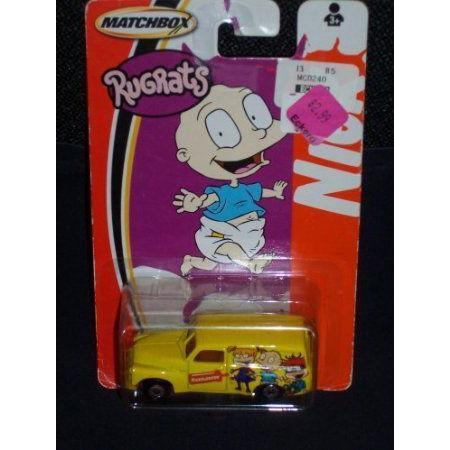 Matchbox (マッチボックス) Nickelodeon Vehicles Rugrats 黄 Panel Van ミニカー ダイキャスト 車