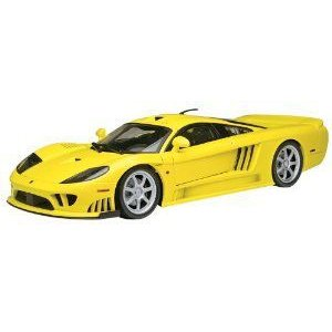 Motormax (モーターマックス) 1:12 ダイキャスト Saleen S7 Twin Turbo ミニカー ダイキャスト 車 自動車
