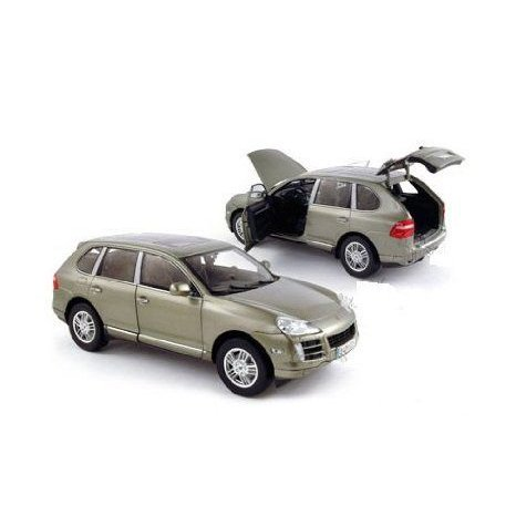 Norev (ノレブ) Show Room - Porsche (ポルシェ) Cayenne S SUV with Sunroof (1:18, Light 緑) ミニ