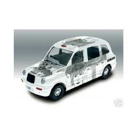The Beatles Revolver Album Cover ダイキャスト Collectable - London Taxi ミニカー ダイキャスト 車