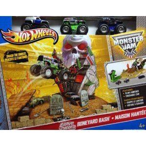 Hot Wheels (ホットウィール) Monster Jam Grave Digger Boneyard Bash (Manufacturer recommended age: