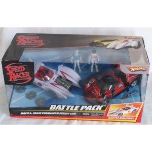 SPEED RACER BATTLE PACK MACH5 & TAEJO TOGOKHAN STREET CAR ミニカー ミニチュア 模型 プレイセット自