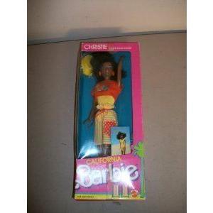 Barbie(バービー) California Christie - Comic book inside of box - circa 1987 ドール 人形 フィギュ