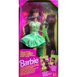 1994 Cut and Style Barbie(バービー) Doll ドール 人形 フィギュア