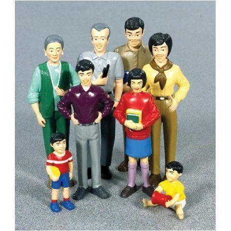 Pretend & Play Family - Asian ドール 人形 フィギュア