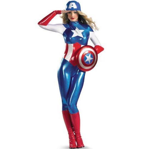 キャプテンアメリカ/キャプテン・アメリカ マーベルヒーローズ Women of Marvel American Dream 全身タイ