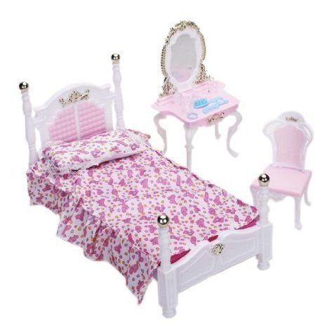 Doll Bedroom Furniture Set Dollhouse (ドールハウス) Accessories for DOll