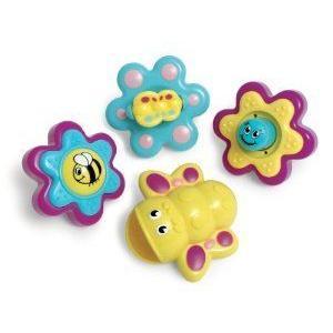 WOW Bella Butterfly - Bath Toys (4 Piece Set) ミニカー ミニチュア 模型 プレイセット自動車 ダイキャ