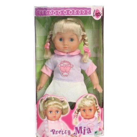 Pretty Mia Lissi Doll W/Pigtails ドール 人形 フィギュア