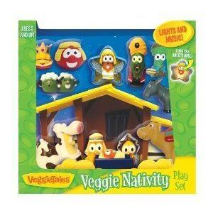 VeggieTales Nativity プレイセット