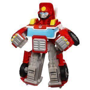 Transformers (トランスフォーマー) Rescue Bots Playskool Heroes Heatwave The Fire-Bot フィギュア