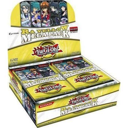 ★ ボックス ★ 遊戯王 英語版 Ra 黄 Mega Pack ラー・イエロー・メガパック ブースターボックス