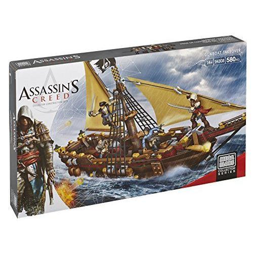 Mega Bloks Assassin's Creed Gunboat Takeover メガブロックアサシンクリード砲艦の買収 94308