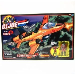 Gi Joe (GIジョー) Vs Cobra Cobra Rattler w/ Exclusive Wild Weasel アクションフィギュア