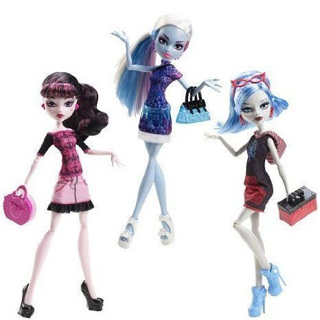 Monster High (モンスターハイ) Scaris Standard Travel Dolls Wv.1 Rev. 1 Set ドール 人形 フィギュア