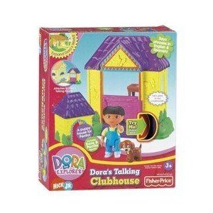 DORA'S TALKING HOUSE DORA'S CLUB HOUSE CLUBHOUSE