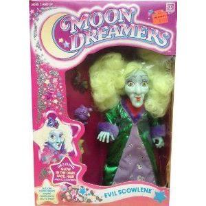 Moon Dreamers Evil Scowlene ドール 人形 フィギュア