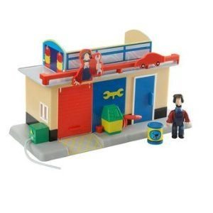 Postman Pat Mini Playset and フィギュア - Ted Glen's Garage