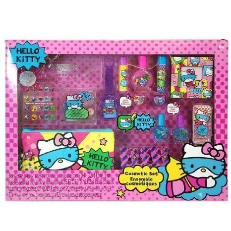 Sanrio Hello Kitty (ハローキティ) Mega Boxed Cosmetic Make-Up Set by Sanrio TOY ドール 人形 フィギ