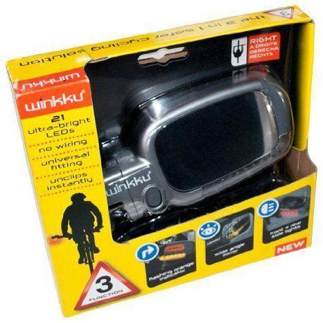 Winkku Bicycle Lights Mirror & Indicators ミニカー ミニチュア 模型 プレイセット自動車 ダイキャスト