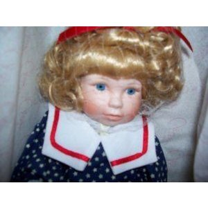 Marie Osmond Fine Porcelain Doll Gabriela 1992 Annual Edition ドール 人形 フィギュア