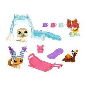 Littlest Pet Shop (リトルペットショップ) Arctic Adventure Playpack with 3 Pets