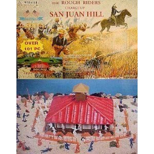 Rough Riders Charge Up San Juan Hill Playset Playsets