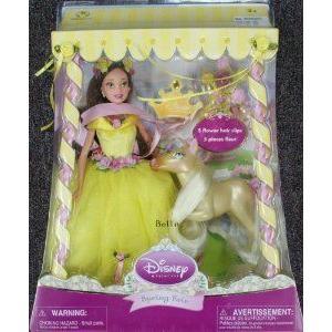 Disney (ディズニー)princess Spring Fair Belle with horse ドール 人形 フィギュア