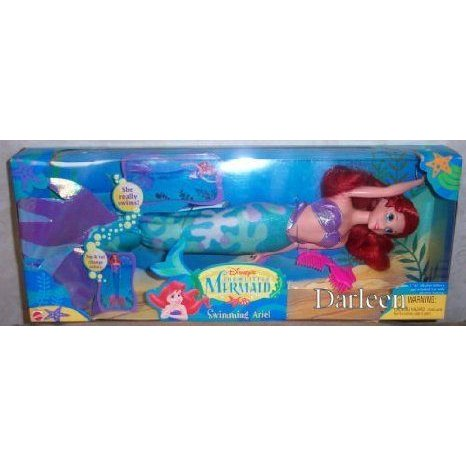 Swimming Ariel doll ドール 人形 フィギュア