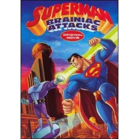 Superman: Brainiac Attacks DVD