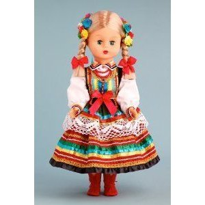 Lublin Girl (Lubelska) - 18 Inch Collectible Regional Doll ドール 人形 フィギュア
