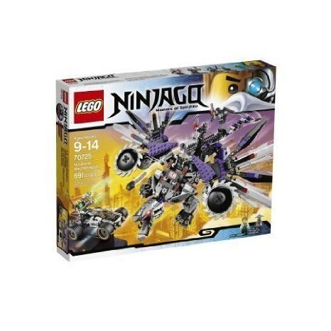LEGO (レゴ) Ninjago (ニンジャゴー) 70725 Nindroid Mech Dragon Toy [Toys & Games] Holiday Toy ブロ