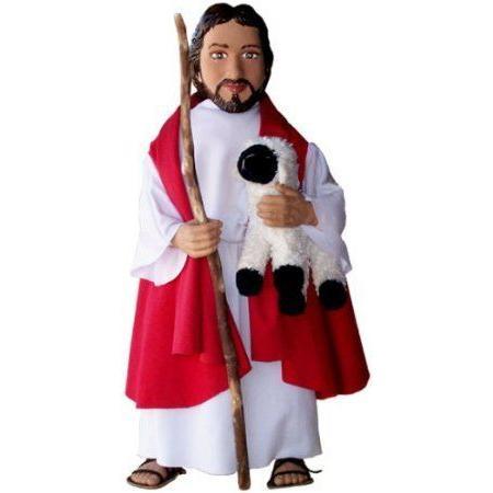 Jesus Good Shepherd Doll by Soft Saints ドール 人形 フィギュア