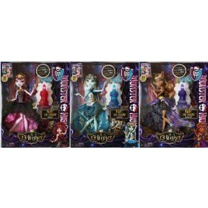 MONSTER HIGH 13 Wishes Party Doll SET: Haunt the Casbah (SHIPPING NOW!!) ドール 人形 フィギュア