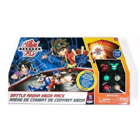 Bakugan (バクガン) Battle Brawlers Battle Arena Mega Pack with 6 Bakugans