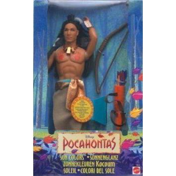 Sun Colors Kocoum doll from Disney's (ディズニー) Pocahontas ドール 人形 フィギュア