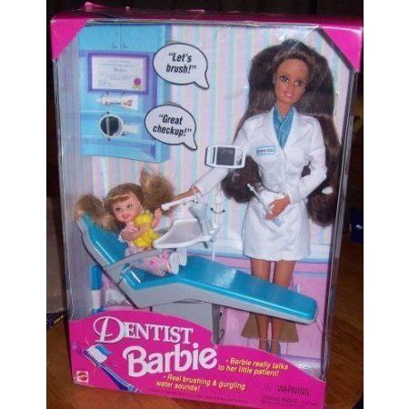 1997 Dentist Barbie(バービー) ドール 人形 フィギュア