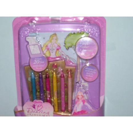 Barbie(バービー) 12 Dancing Princess Rolling Art Desk ドール 人形 フィギュア