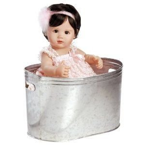 Collectible Doll, Real Looking Baby Doll, Ke'Alohi, 19-inch Doll in Full Vinyl ドール 人形 フィギ