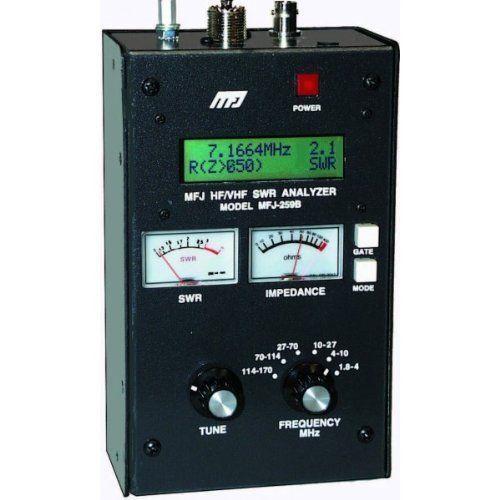 アマチュア無線用アンテナアナライザー(SWRアナライザー)MFJ-259C