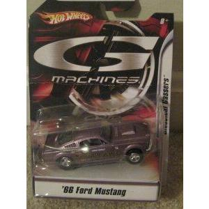 Hot Wheels (ホットウィール) G Machines '66 Ford (フォード) Mustang (マスタング) ミニカー ミニチュ