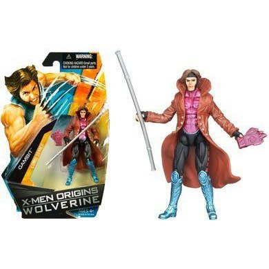 XMen Origins Wolverine ウルヴァリン Comic Series 3 3/4 Inch Action Figure Gambit フィギュア ダイキ
