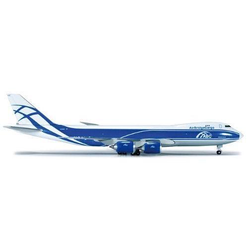 1: 500 ヘルパウィング Air Bridge Cargo ボーイング 747-8F