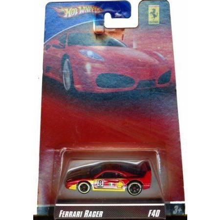 Hot Wheels (ホットウィール) Ferrari (フェラーリ) Racer F40 ダイキャスト 1:64 スケール ミニカー ダ