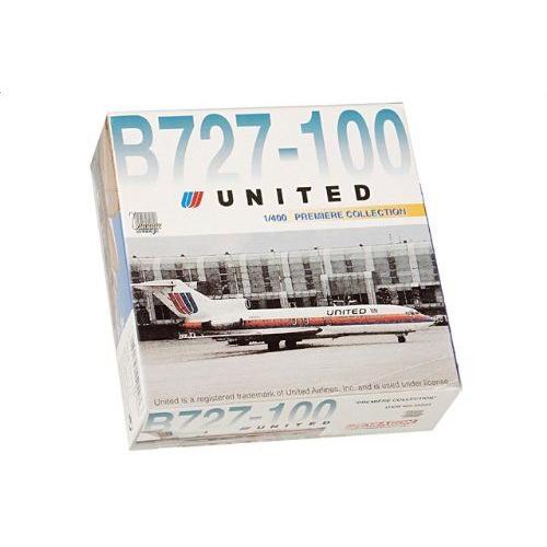 1:400 ドラゴンモデルズ 55222 ボーイング 727-100 ダイキャスト モデル ユナイテッド 航空 N7008U