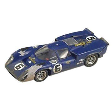 Spark Model 1/43 スケール Prefinished Fully Detailed Resin Model Lola T70 MK 3B, Winner 1969 Dayto