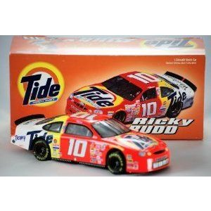1999 - Action - NASCAR - Ricky Rudd #10 - Ford (フォード) Taurus - Tide Racing - 1:24 スケール -