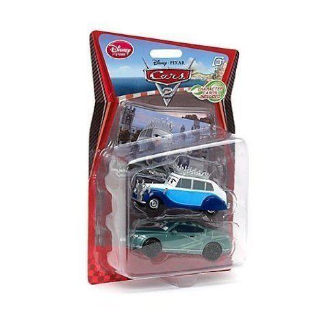 Disney (ディズニー) Pixar (ピクサー) Cars 2 (カーズ2) Queen & Prince Wheeliam 2 Pack ミニカー ダイ