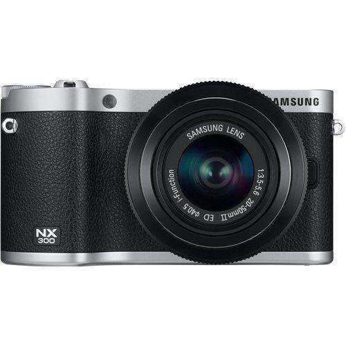 適切な価格 Samsung NX300 スマート スマート NX300 Wi-Fi 搭載 Samsung デジタルカメラ 20-50mm レンズキット  (ブラック), トヨノマチ:e1af02fb --- viewmap.org