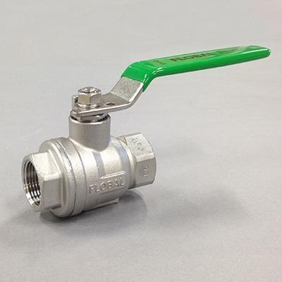 ステンレス フルボアボールバルブ ねじ込み  SCS14A(SUS316相当) V06-03 3/8(10A)|valve-and-fitting